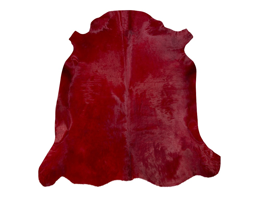 Cow Dyed Red