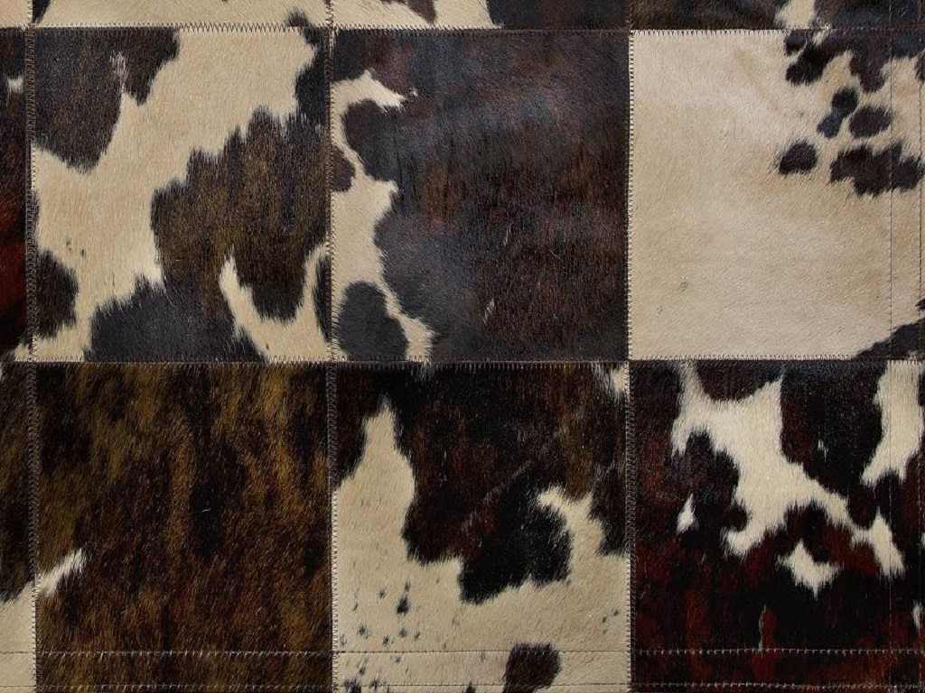 Carpet Normand Cow Dyed Beige  Part
