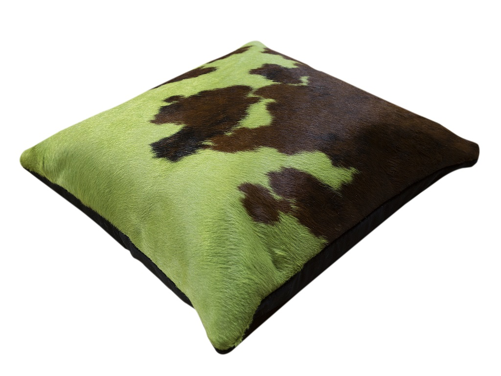 Cushion Cow Dyed Lt.green
