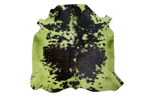 Normand Cow Dyed Lt.green